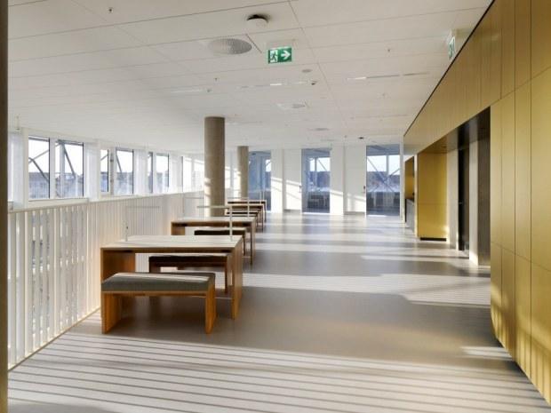 Niels Bohr Bygningen - balkon