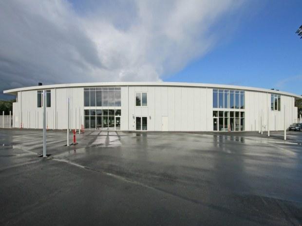 Nyt Helsingør Stadion - facade