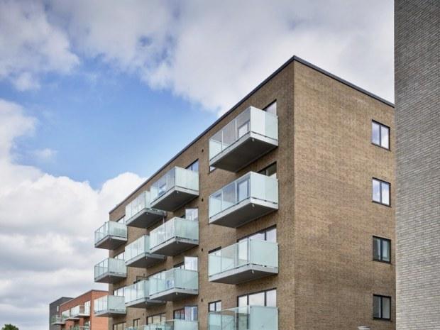 Østerlunden – Byggefelt 5 - facade