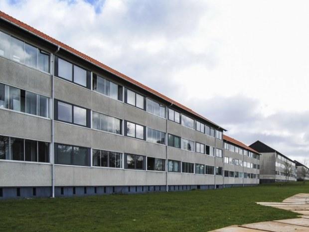 Skoleparken - facade før ombygning