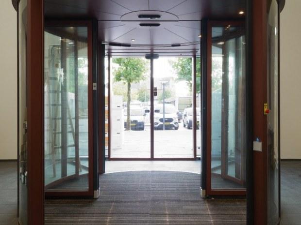 Vejen Rådhus - indgangsdøre