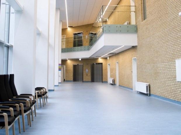 Akutsygehus Sønderjylland - gangareal