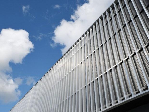Arena Randers hal 4 - aluminiumsbeklædning
