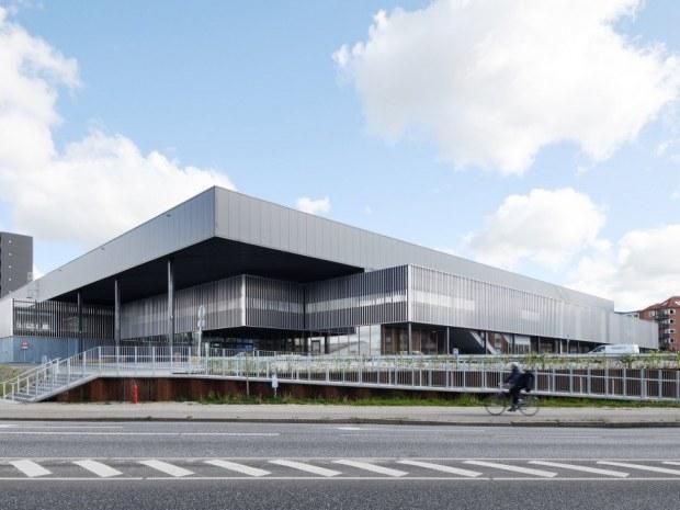 Arena Randers hal 4 - facade