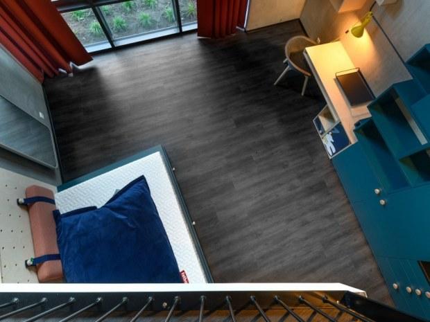 BaseCamp Lyngby - studiebolig gulv