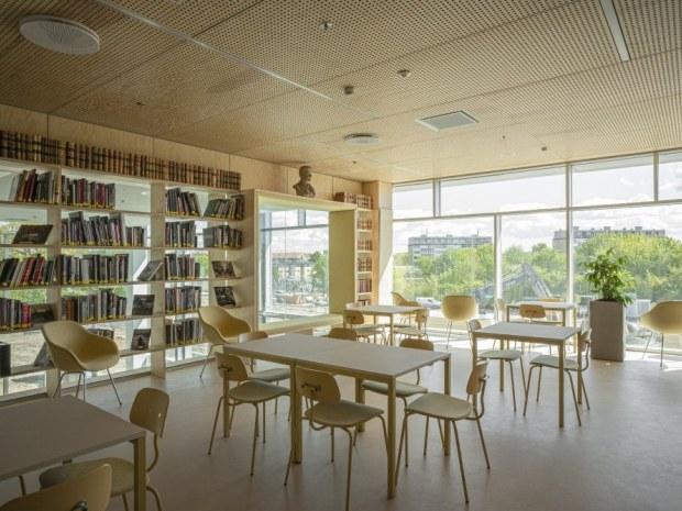 DMJX Campus Katrinebjerg - bibliotek