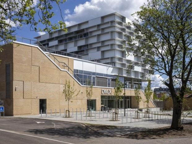 DMJX Campus Katrinebjerg - facade