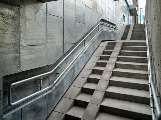 Frimærket - trappe