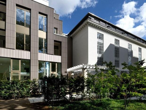 Mineralvandshuset - facader
