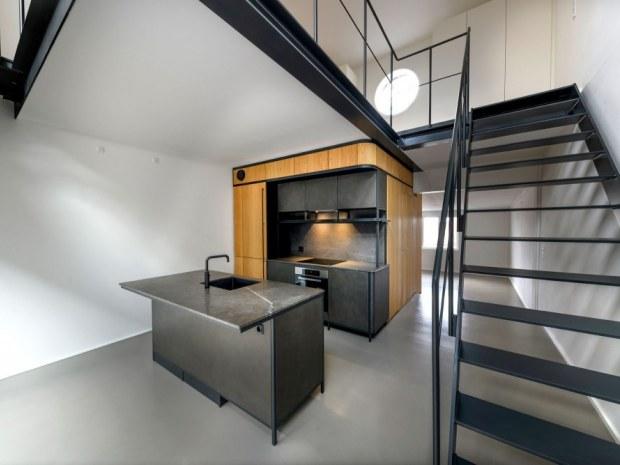 Mineralvandshuset - trappe