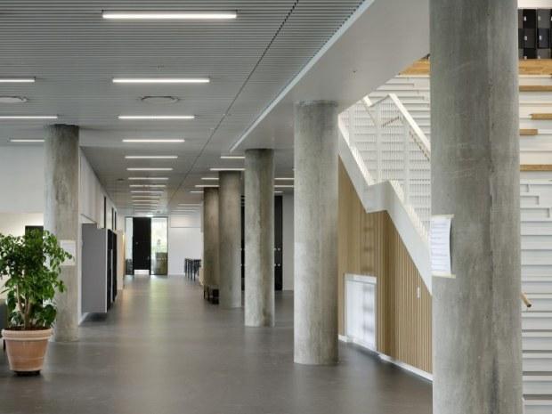 Next Vestskoven Gymnasium - søjler