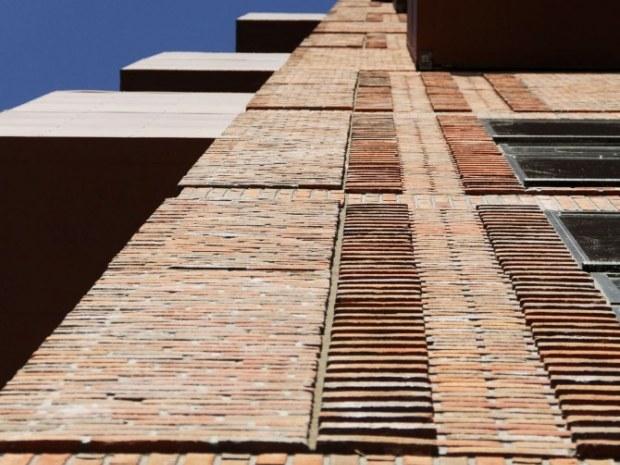 Papirtårnet - reliefmønstre
