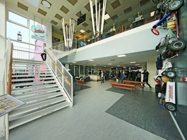 Racehall CPH - administrationsbygning