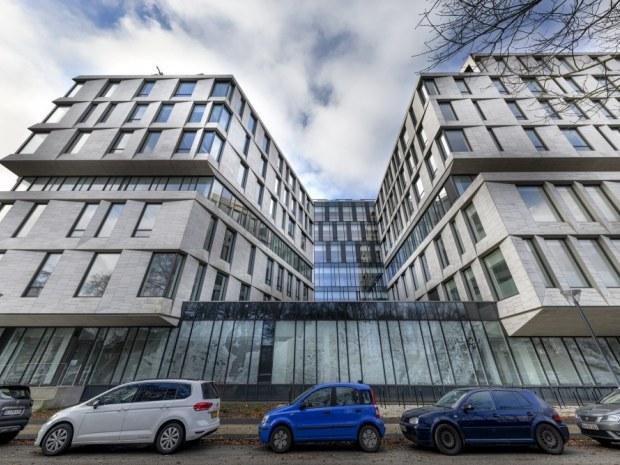 Rigshospitalets Nordfløj - facade