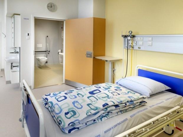 Rigshospitalets Nordfløj - sengestue