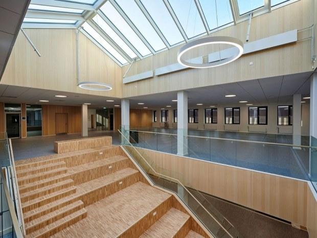 Syddansk Universitet, SDU - trappe