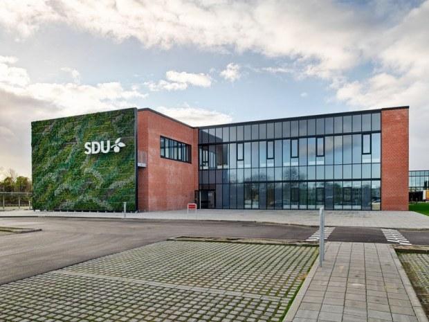 Syddansk Universitet, SDU - facade