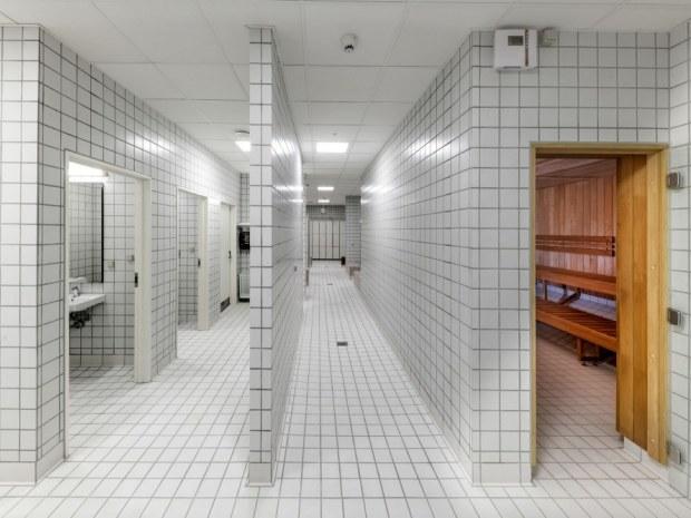 Vestamager Svømmehal - omklædningsrum