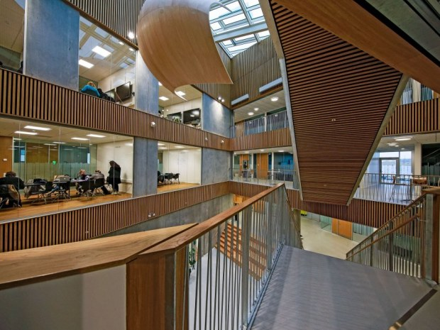 Zealand Campus - atrium