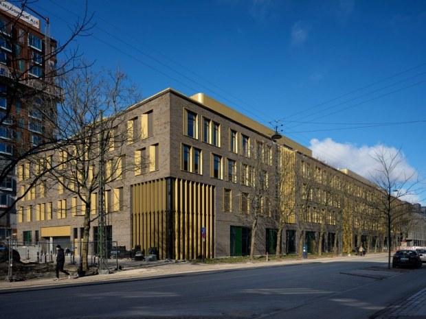 Emil Christian Hansen Hus - facade