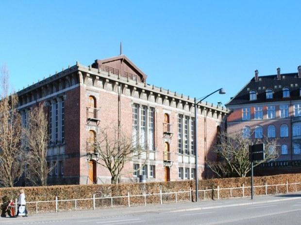 Erhvervsarkivet - facade