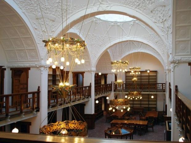 Erhvervsarkivet - Atrium
