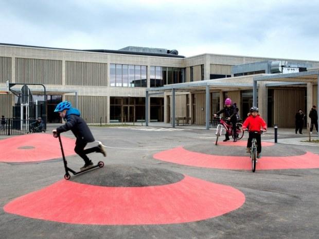 Erlev Skole - legeplads