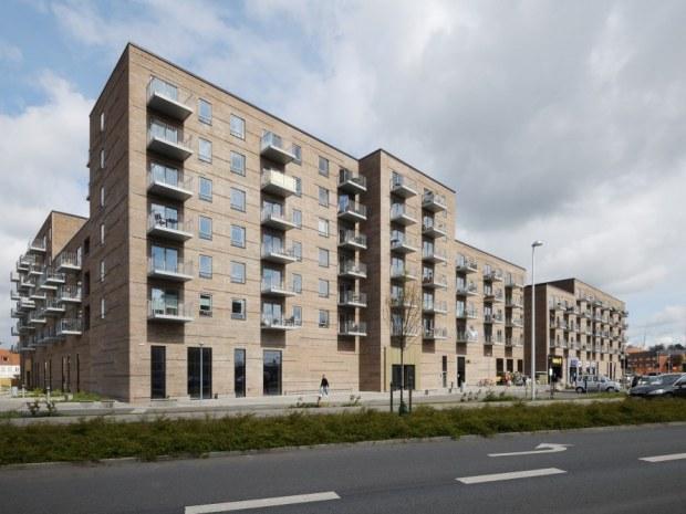 Lilli Gyldenkildes Torv - facade