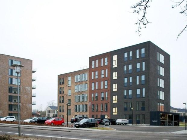 Risskov Husene - facader