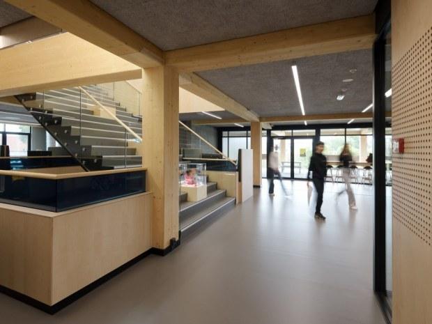 Social- og Sundhedsskolen  - trappe
