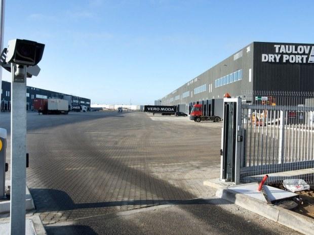Taulov Dry Port - indgang
