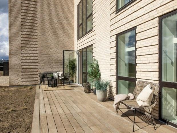Trongården - terrasse