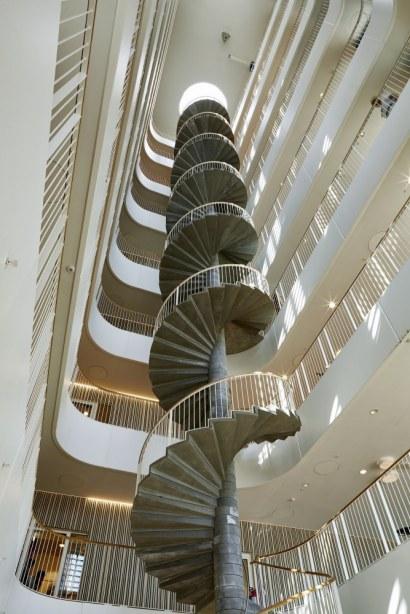 Trafiktårnet Øst - Atrium