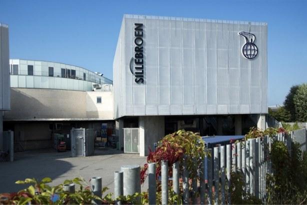 Sillebroen Shopping biograf - Søjlerne