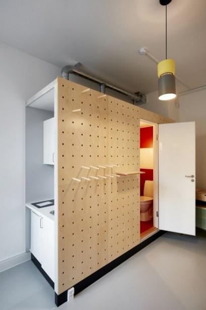 Kollegieboliger Sølvgade - Installationerne