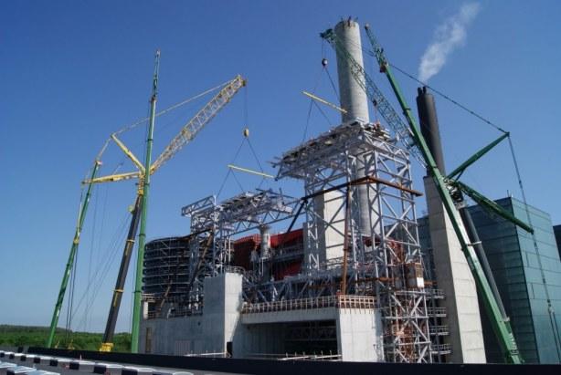 Kraftvarmeværk Lisbjerg - Tagkonstruktionen