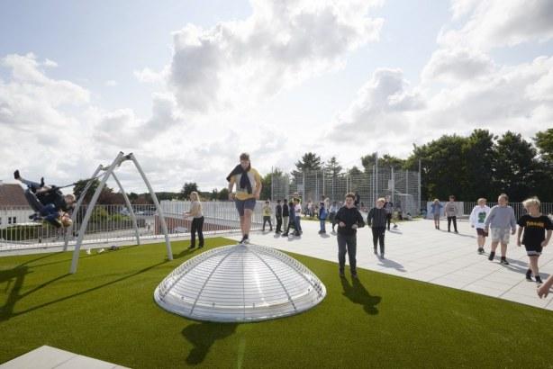 Sønderlandsskolen - legeplads