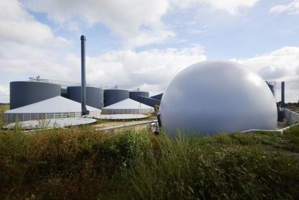 Nature Energy Korskro - gasbeholder