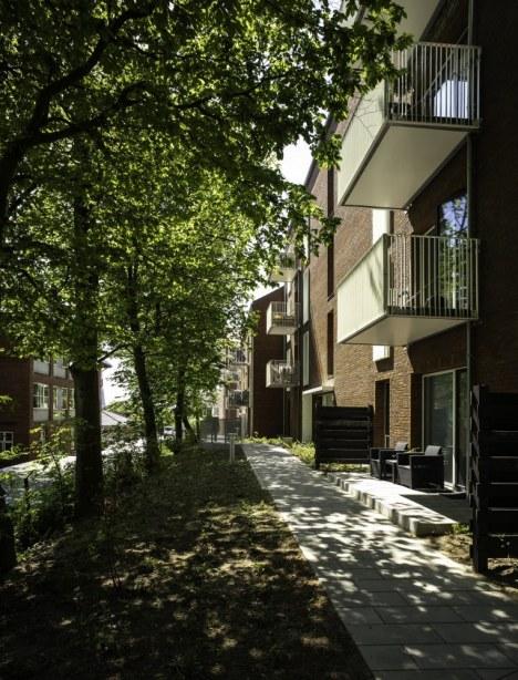 Peter Sabroes Gade - døre