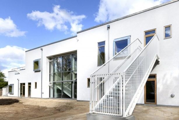 Børnehuset Troldemosen  og Lundø - facade