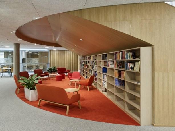 HF & VUC Fyn - bibliotek