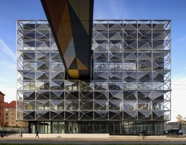 Niels Bohr Bygningen - facade