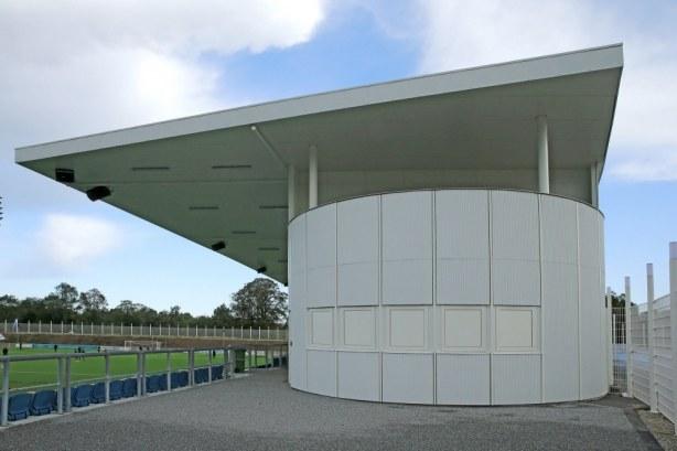 Nyt Helsingør Stadion - tribunebygning