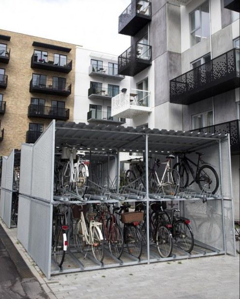 Risskov Brynet  – cykelparkering
