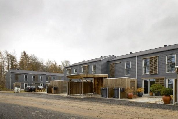 Vedbæk Park Vest - facade