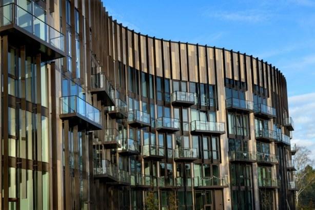 BaseCamp Lyngby - facade