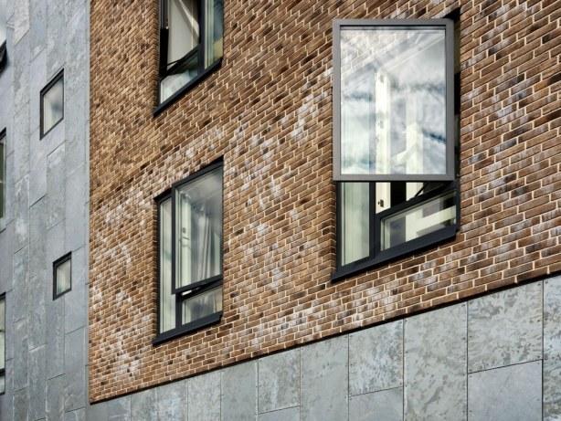 Frimærket - vinduer