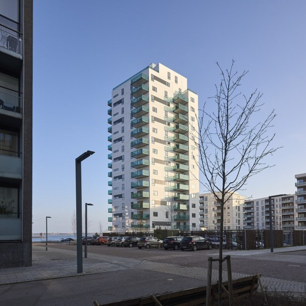 Holbæk Fjordtårn - facade