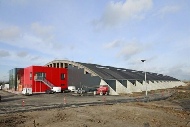 Racehall CPH - beton