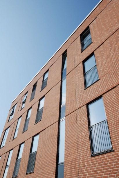 Randers Kaserne, Karré 6 - vinduer